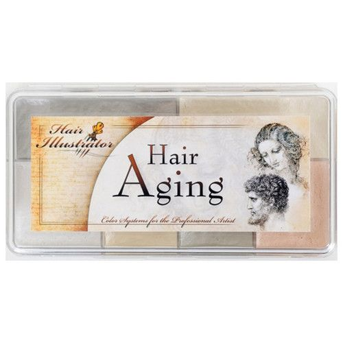 Hair Illustrator Hair Aging Palette