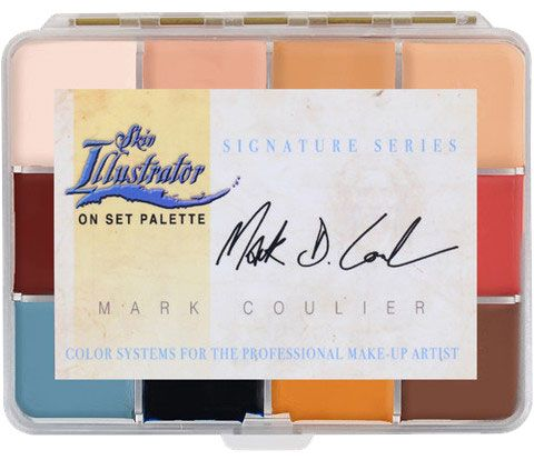 Skin Illustrator Mark Coulier On Set Palette