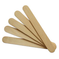 Wooden Tongue Depressors Pack 100x